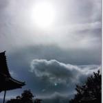 【Diary】 セレモニーの後の彩雲