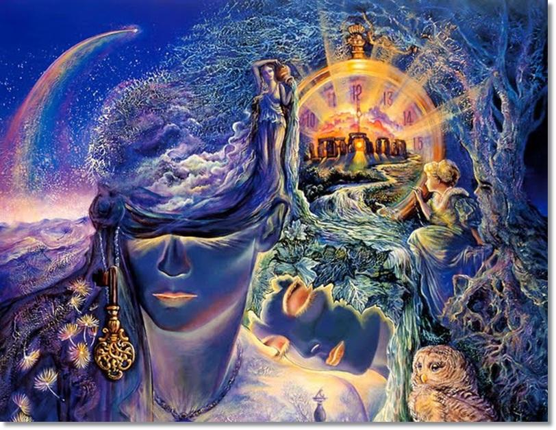 josephine-wall--fantasy--paintings--key-to-eternity-86231