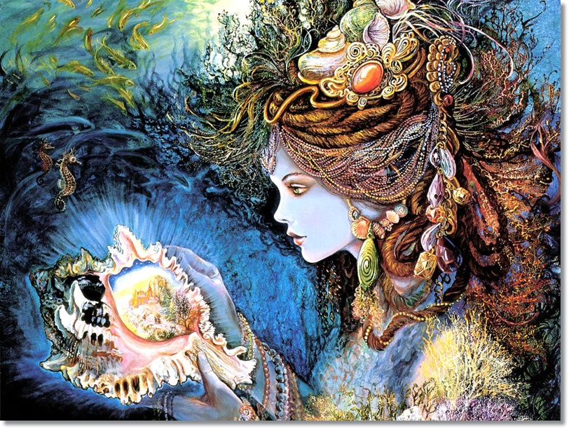 Josephine Wall - Daughter of the Deep (2)